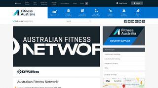 Australian Fitness Network - Fitness Australia
