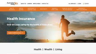 Australian Unity   Private Health Insurance, Investments, Retirement ...