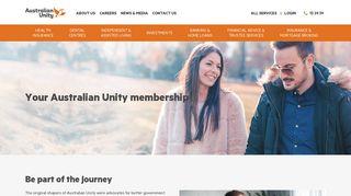 Membership   Australian Unity