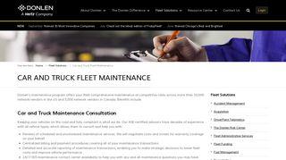 Fleet Vehicle Maintenance - Donlen