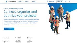Autodesk BIM 360: Construction Management Software