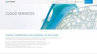 Cloud Services | Design In The Cloud | Autodesk