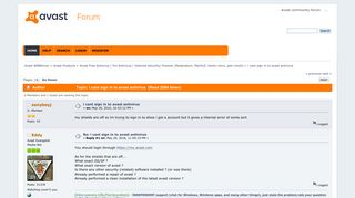 i cant sign in to avast antivirus - Avast Forum