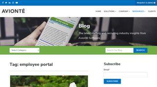 employee portal Archives - Avionté