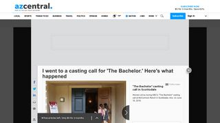 I went to a casting call for 'The Bachelor.' Here's what happened