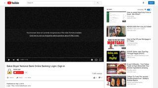 Baker-Boyer National Bank Online Banking Login | Sign-in - YouTube