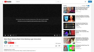 Baker Boyer National Bank Online Banking Login Instructions ...