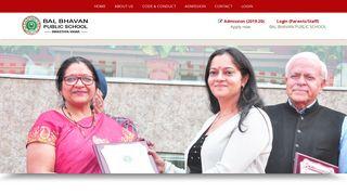 About BBPS - Welcome to Bal Bhavan Public School
