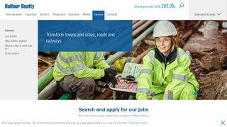 Careers - Balfour Beatty plc
