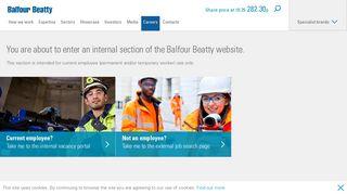 Internal job search - Careers - Balfour Beatty plc