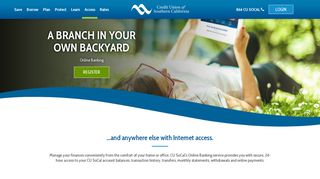 Bank Online   Southern CA Credit Union Online Banking   CU SoCal