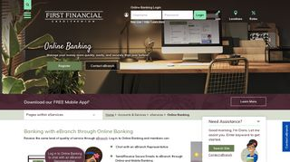 Online Banking | Southern CA Online Credit Union | FFCU