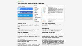 BazQux Reader