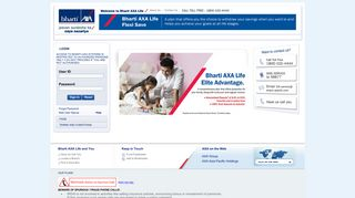 Log in to Bharti Axa Life Insurance | Bharti-axalife.com