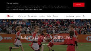 HSBC Group corporate website | HSBC Holdings plc