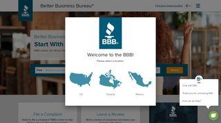 BBB: Start with Trust®   Massachusetts   Better Business Bureau