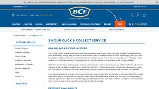 Click & Collect   BCF Australia