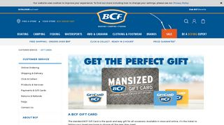 Gift Cards - BCF
