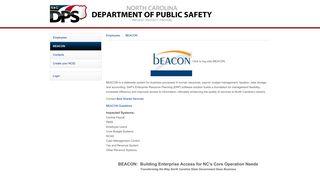 beacon - NCDPS - Employees