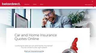 Online and free Insurance Quotes | belairdirect