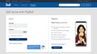 Log in to MyBell - Bell Canada
