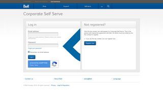 Log in to Bell Business Self serve - Bell Canada