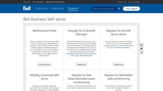 Bell Business Self-serve - Manage your Business services online