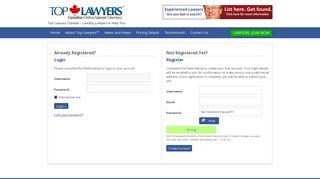 Login   Top Lawyers™ - Top Lawyers Canada