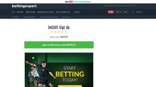 bet365 Sign Up In A Few Easy Steps - Create Your bet365 Account