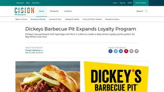 Dickeys Barbecue Pit Expands Loyalty Program - PR Newswire