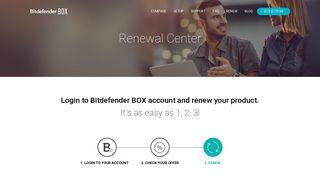 Renew Your Bitdefender BOX