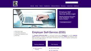 Employer Self-Service (ESS)