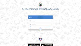 Login - sri venkateshwar international school