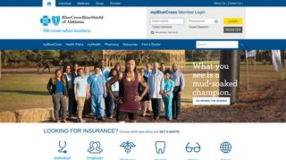 Blue Cross and Blue Shield of Alabama: Health Insurance Alabama