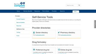 For Providers | Self-Service | Blue Cross Complete