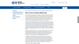 Blue Cross Complete (Medicaid) - Blue Cross Blue Shield of Michigan