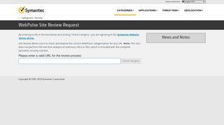 Bluecoat Sitereview - Symantec