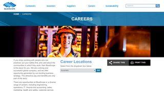 Careers - BlueScope Corporate