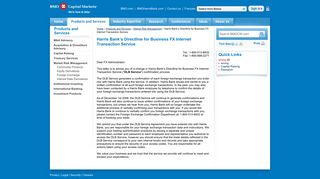 BMO Capital Markets - Harris Bank's Directline for Business FX ...