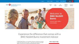 Wealth Management   BMO Nesbitt Burns - BMO Bank of Montreal