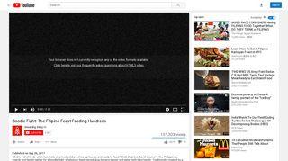 Boodle Fight: The Filipino Feast Feeding Hundreds - YouTube