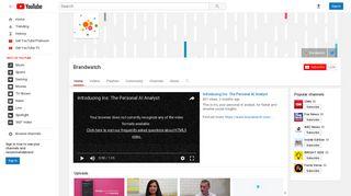 Brandwatch - YouTube