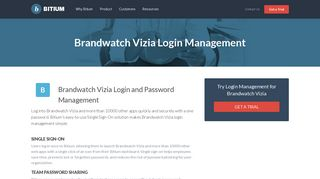 Brandwatch Vizia Login Management - Team Password Manager