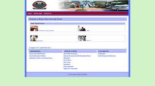 BSU Portal - Benue State University