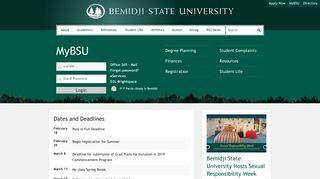 MyBSU | Bemidji State University