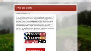 Free BT Sport
