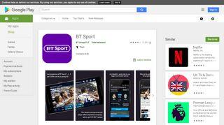 BT Sport - Apps on Google Play