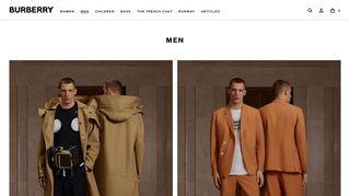 Men | Burberry® (United States)