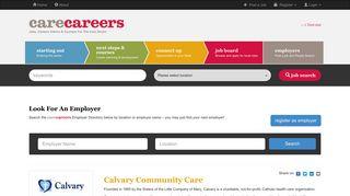 Calvary Community Care - Care Careers