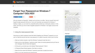 How Do I Get into Computer if Forgot Windows 7 Password [SOLVED]